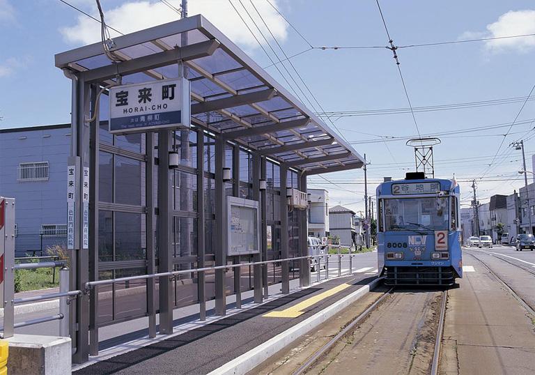函館市交通局 宝来町駅
