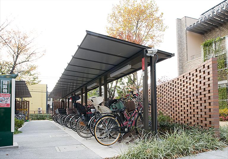 大山駅前 自転車駐車場2