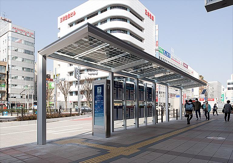 川越駅西口駅前広場1