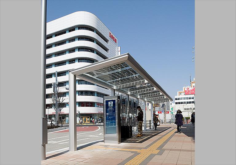 川越駅西口駅前広場4